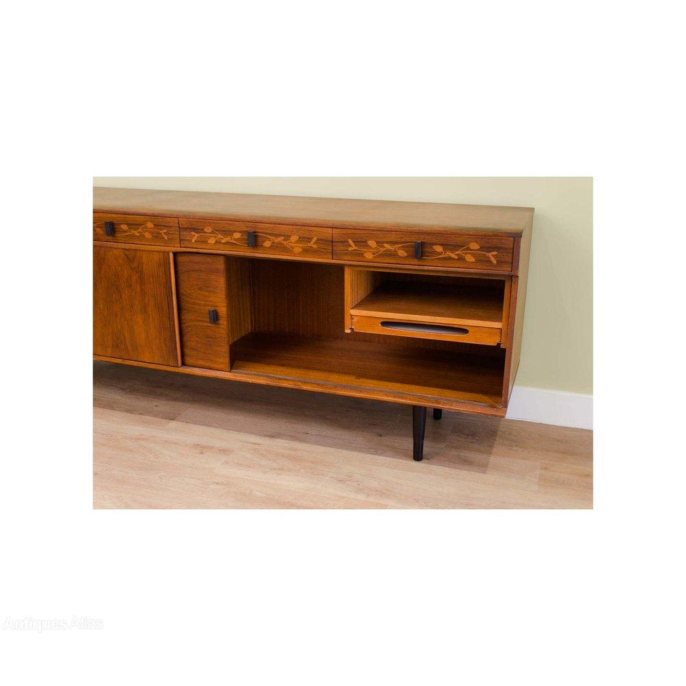 antiques atlas retro british made rosewood sideboard. Black Bedroom Furniture Sets. Home Design Ideas
