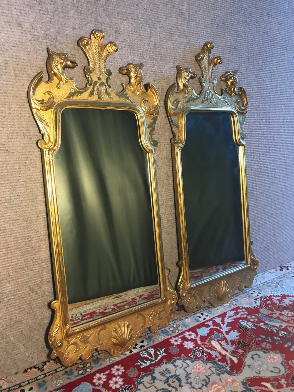 Antiques Atlas Pair Of George I Style Pier Mirrors