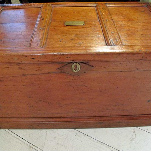 A Victorian Pine Trunk Antiques Atlas