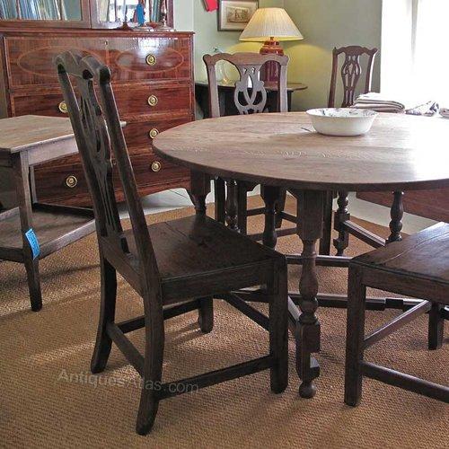 An oak gateleg dining table antiques atlas for Gateleg dining table