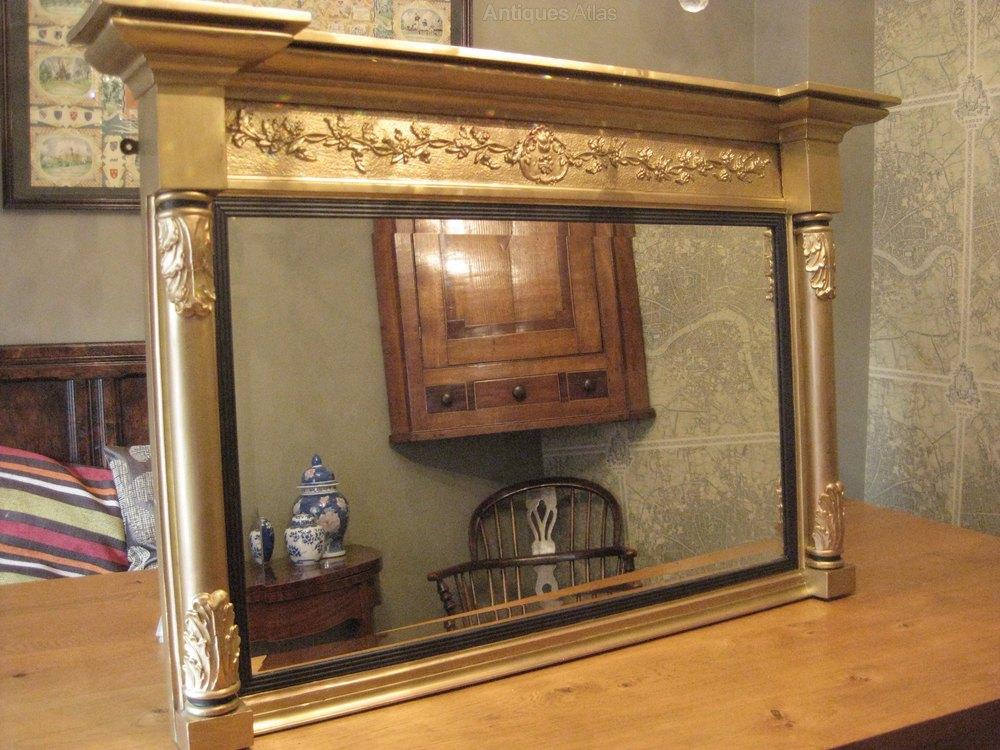 Antiques Atlas Gilt Over Mantle Mirror