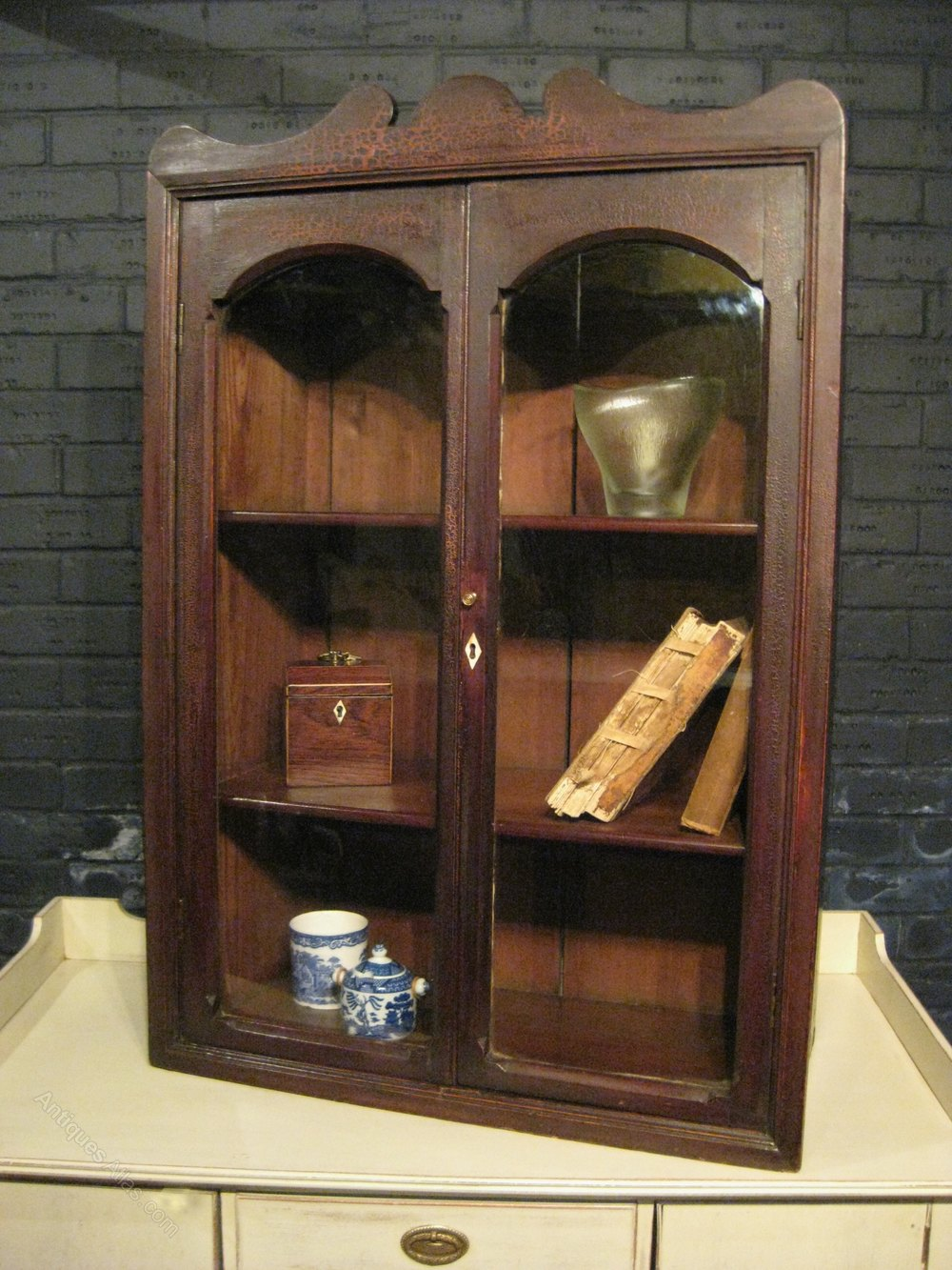 Victorian Pine Wall Cabinet Antiques Atlas