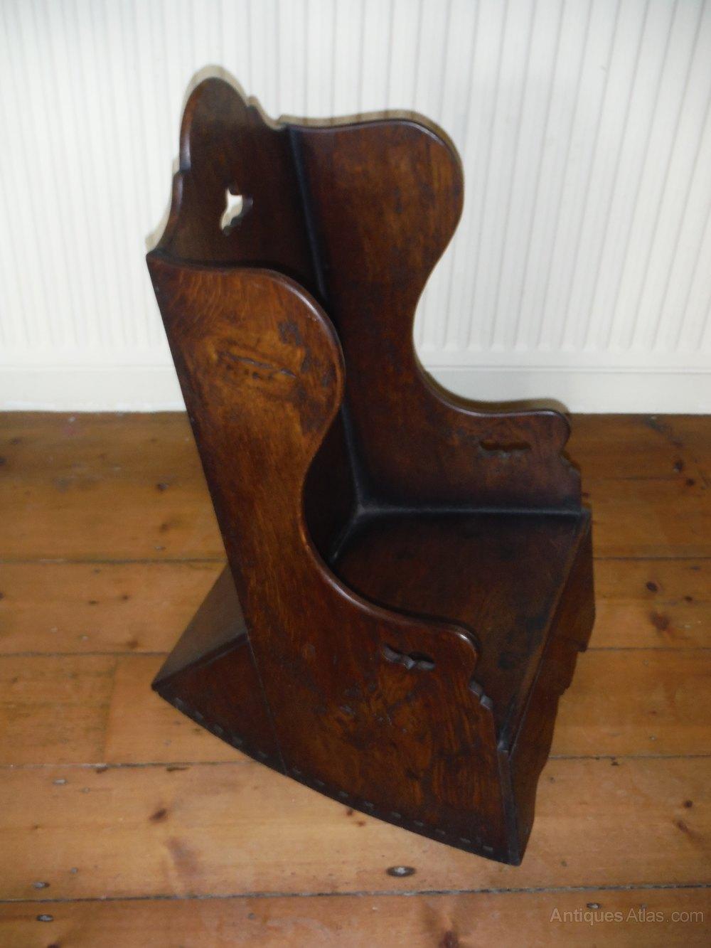 A Child S Elm Rocking Chair Antiques Atlas
