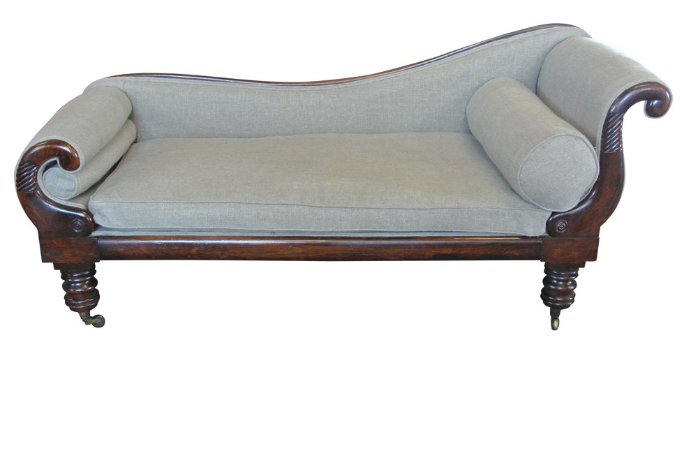 Early 19th c chaise longue antiques atlas for Antique chaise longue for sale uk