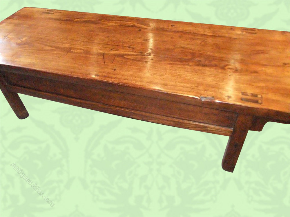 Chinese Elm Coffee Table Antiques Atlas