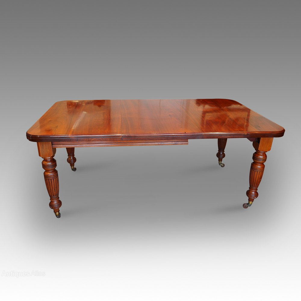 edwardian walnut 8 seat dining table antiques atlas