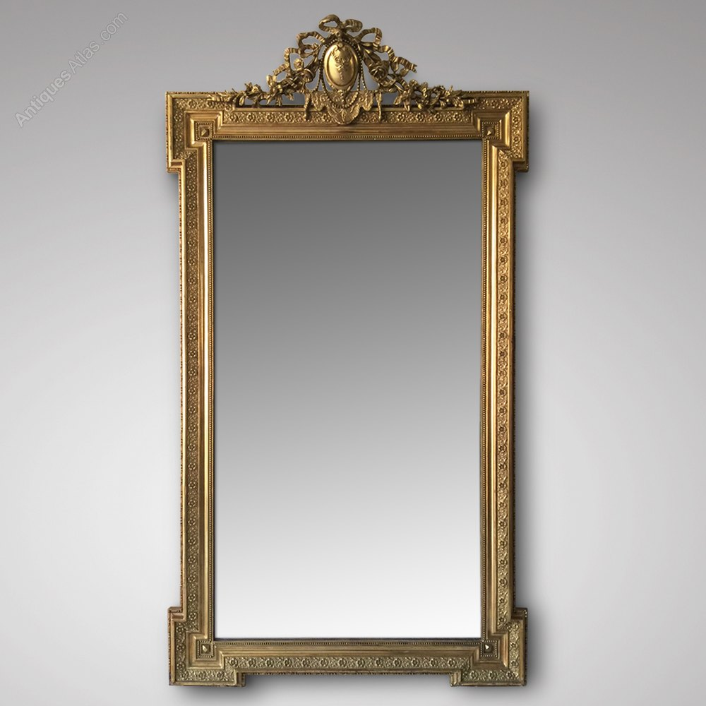 antiques atlas 19th century french gilt framed mirror