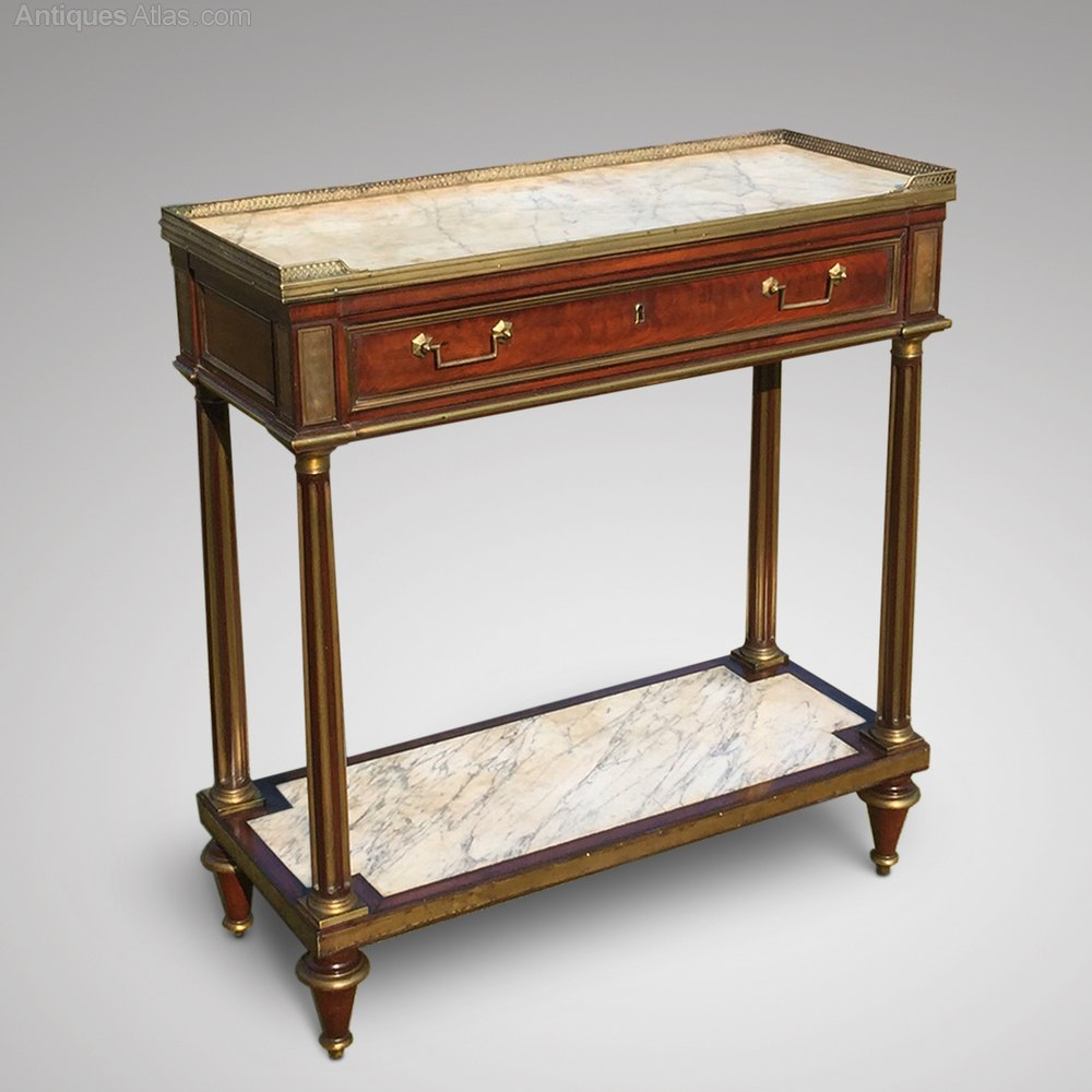 Antique Foyer Furniture : French empire mahogany console hall table antiques atlas