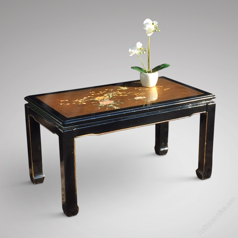 Antiques Atlas Oriental Themed Lacquered Coffee Table