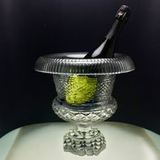 19th Century Cut Wine Glass Ur