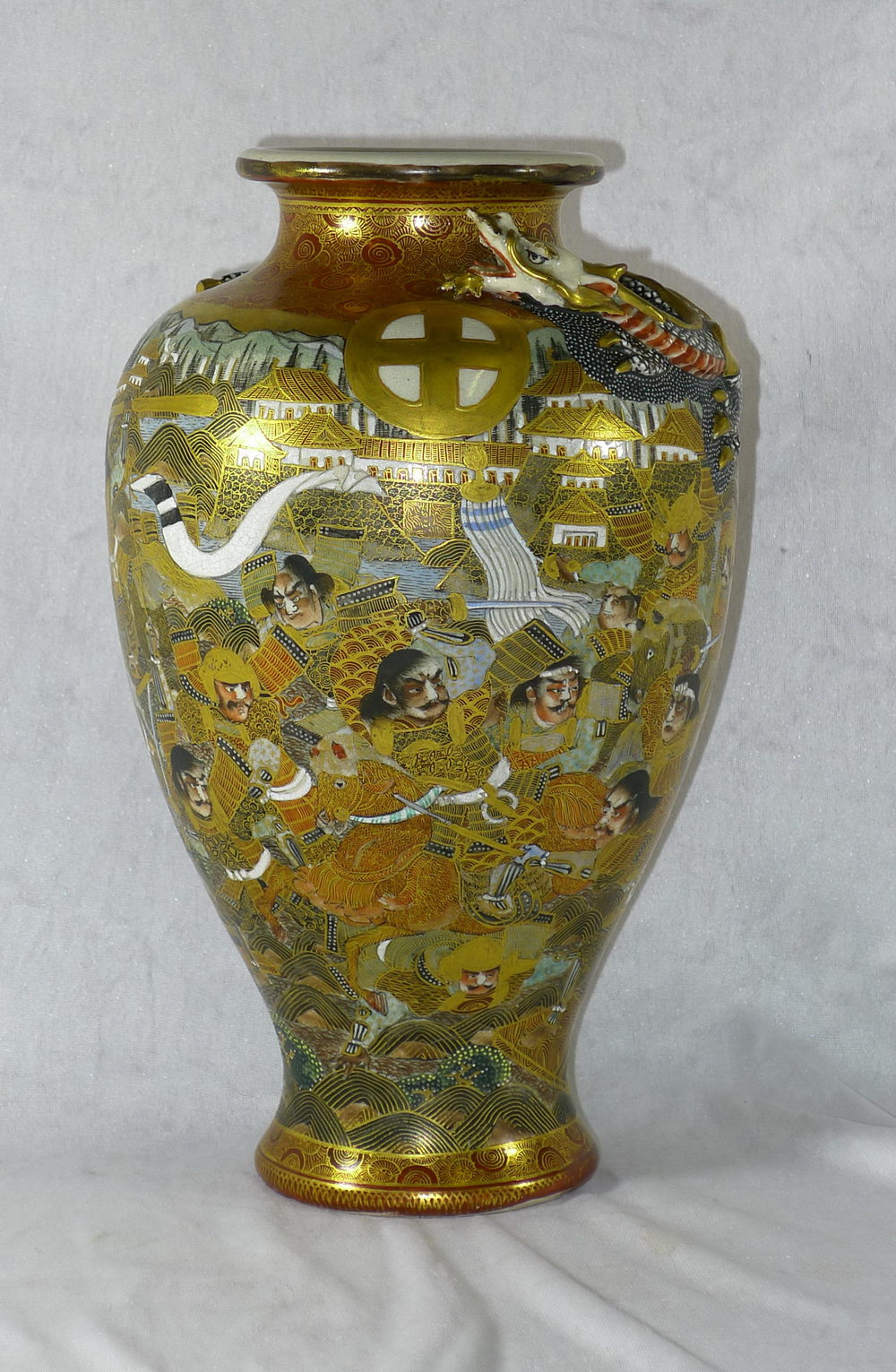 Antiques Atlas 19th Century Japanese Satsuma Vase