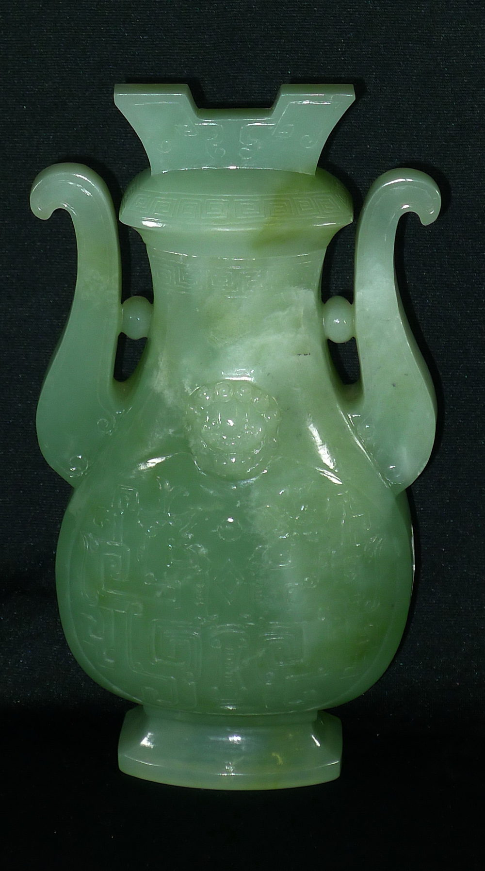Antiques Atlas Large 19th Century Chinese Jade Vase And Cover