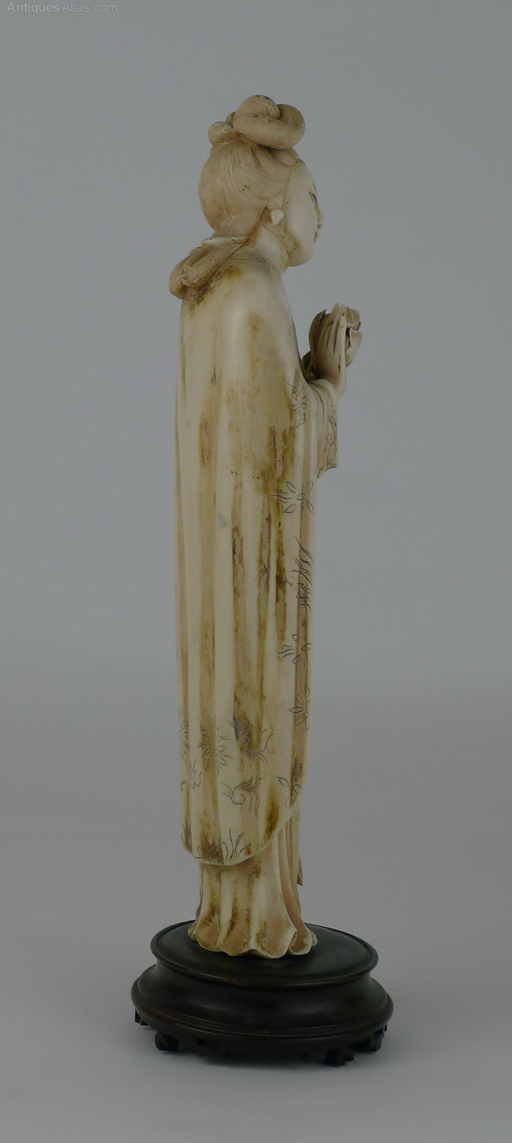 Antiques Atlas Quality 19th C Chinese Ivory Figure