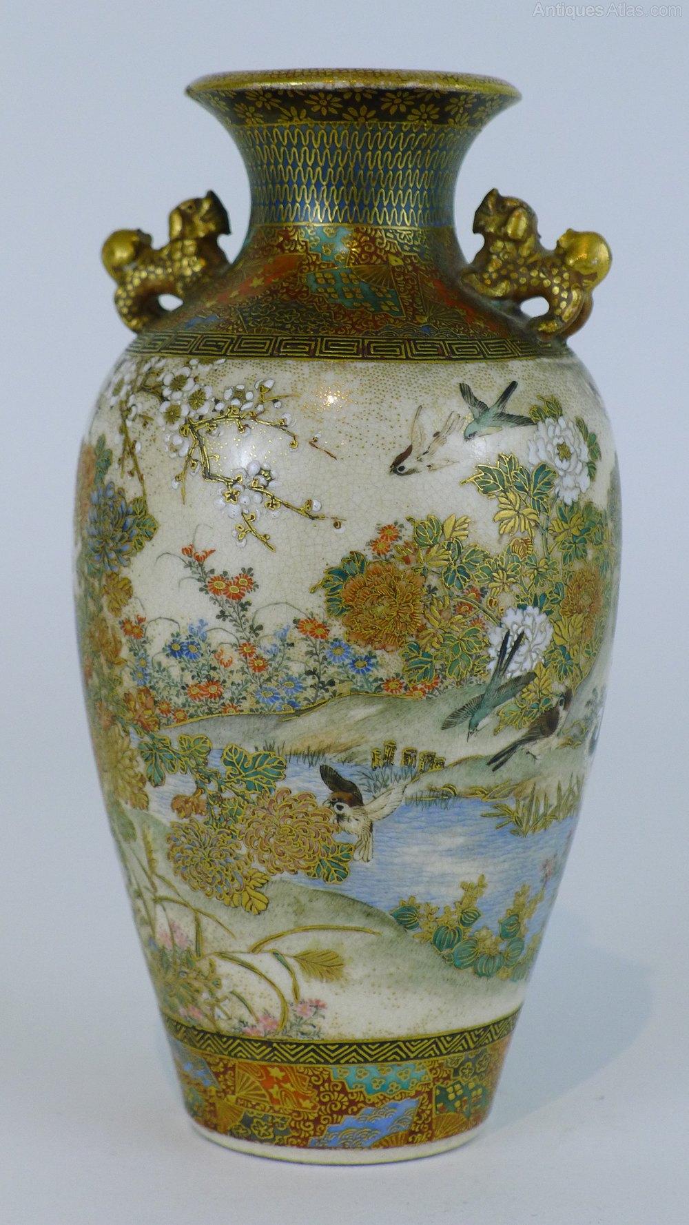 Antiques Atlas Wonderful Quality 19th C Japanese Satsuma Vase