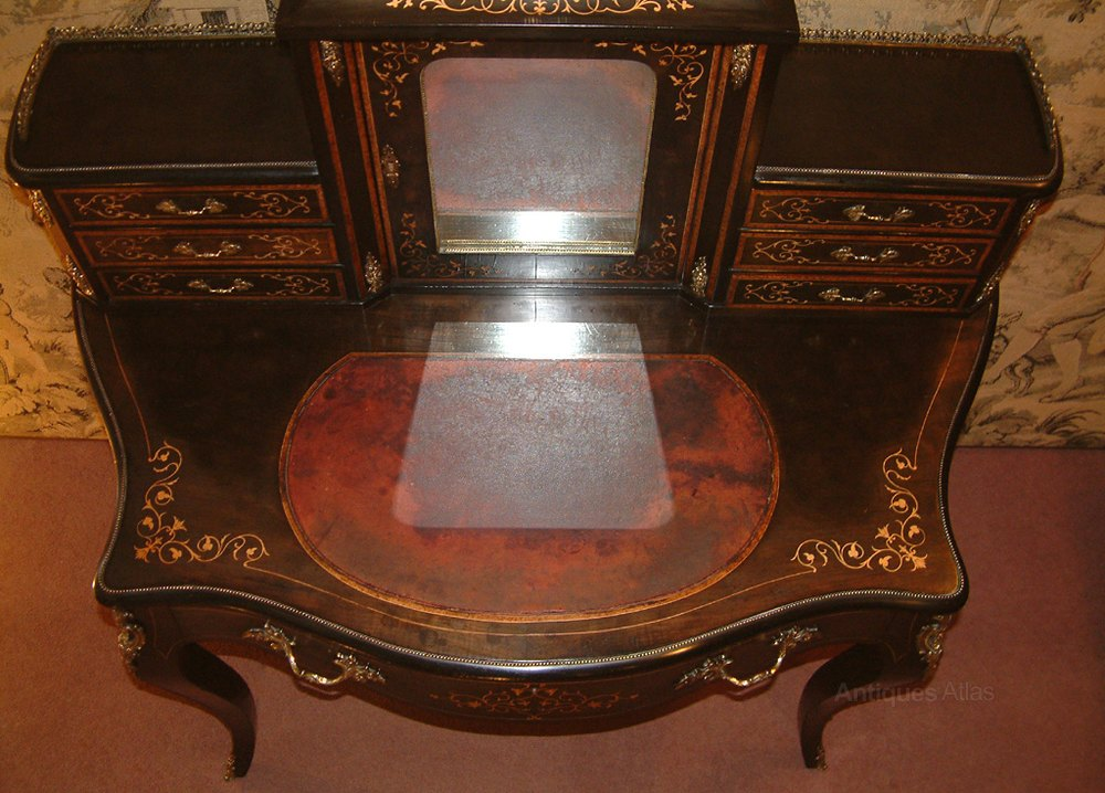 victorian ladies desk bonheur du jour antiques atlas. Black Bedroom Furniture Sets. Home Design Ideas