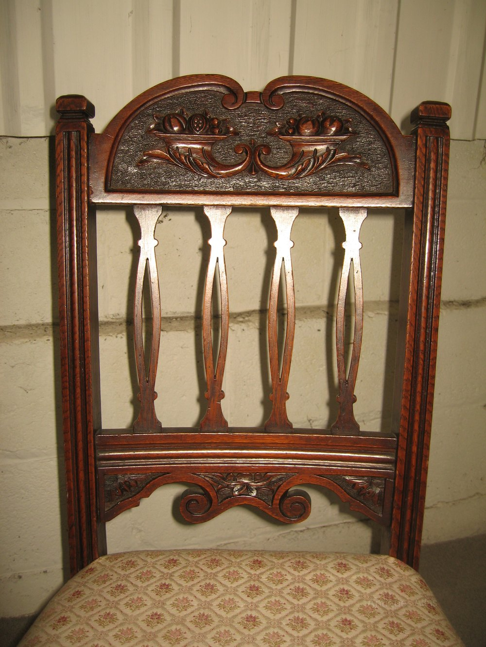 Set Of Six Oak Dining Chairs Antiques Atlas