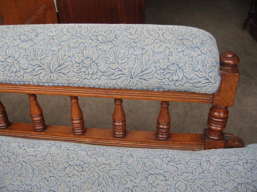 Oak sofa couch chaise longe antiques atlas for Antique chaise sofa bed