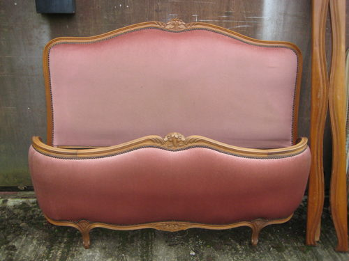 Half Corbeille French Antique Bed Antiques Atlas