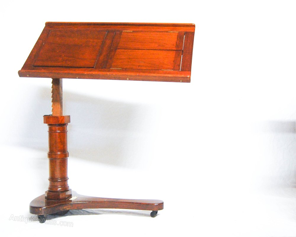 Victorian Adjustable Reading Stand By John Carter