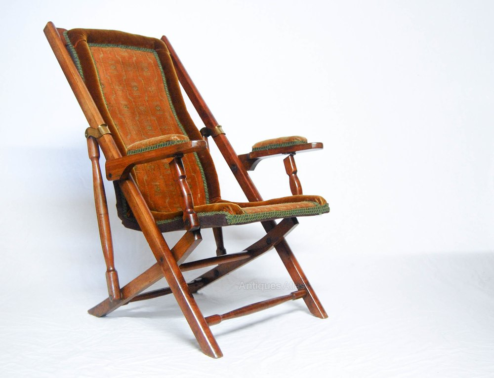 Victorian Campaign Folding Chair By Heal Amp Son Antiques