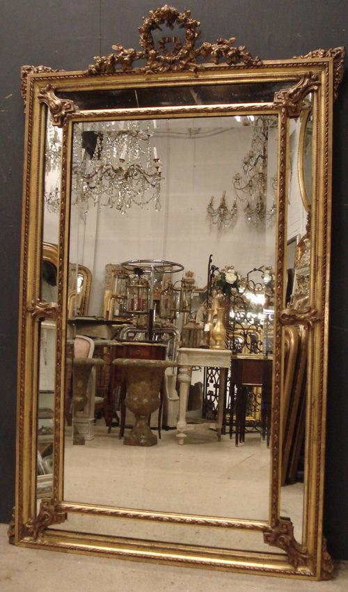 Antiques atlas antique mirror for Antique mirror