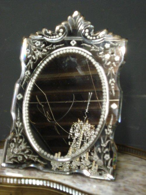 Antiques Atlas Antique Venetian Dressing Table Mirror
