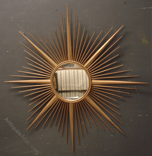 Antiques Atlas Chaty Vallauris Sunburst Mirror