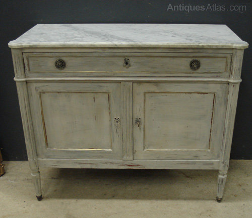 Antiques Atlas French Marble Top Buffet