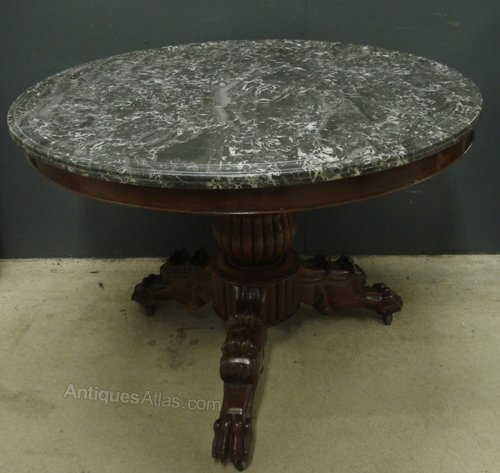 Louis philippe gueridon table antiques atlas for Table ronde louis philippe