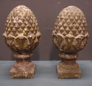 Pair of French Pineapple Finia