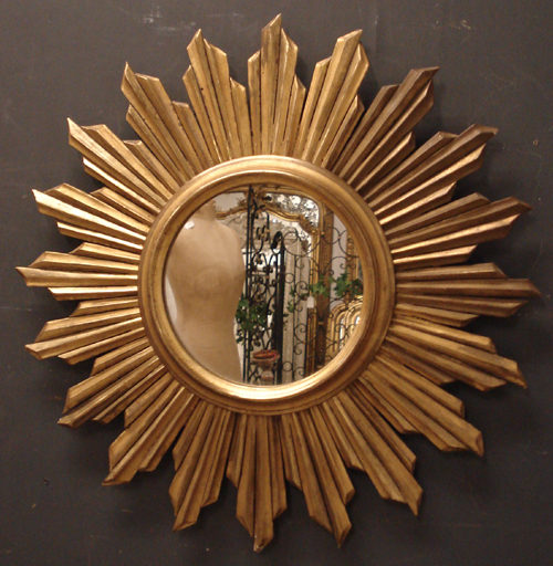 Antiques Atlas Sunburst Mirror