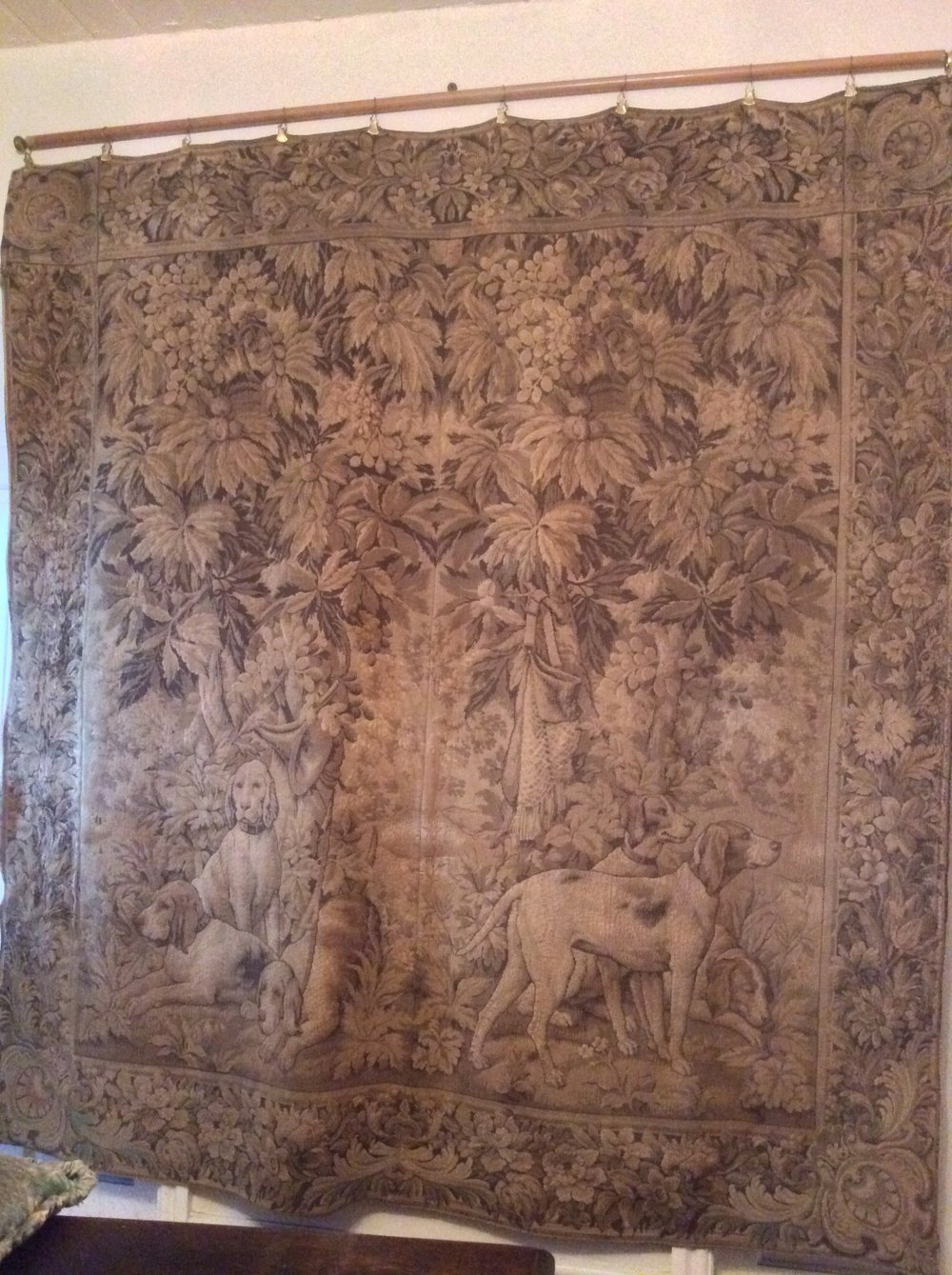Antiques Atlas A Large Wall Tapestry