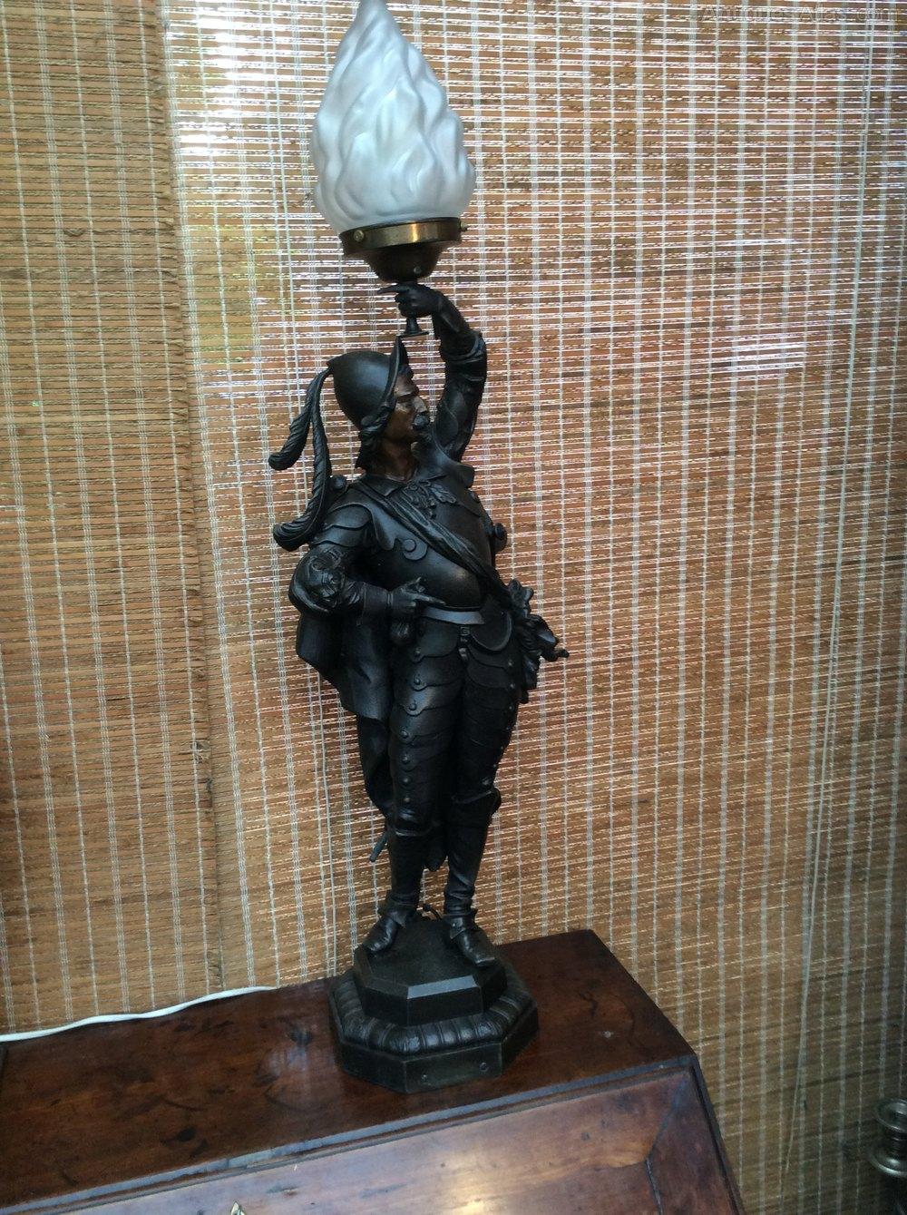 Antiques Atlas Victorian Newel Post Lamp
