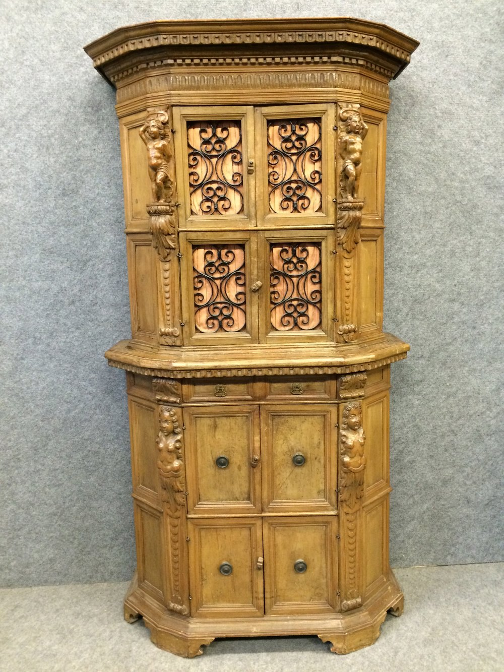 19th century walnut cabinet antiques atlas for 19th century kitchen cabinets