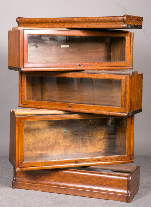 3 Tier Globe Wernicke Bookcase Antiques Atlas