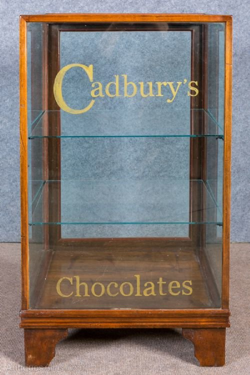 Cadbury S Chocolates Advertising Shop Cabinet Antiques Atlas