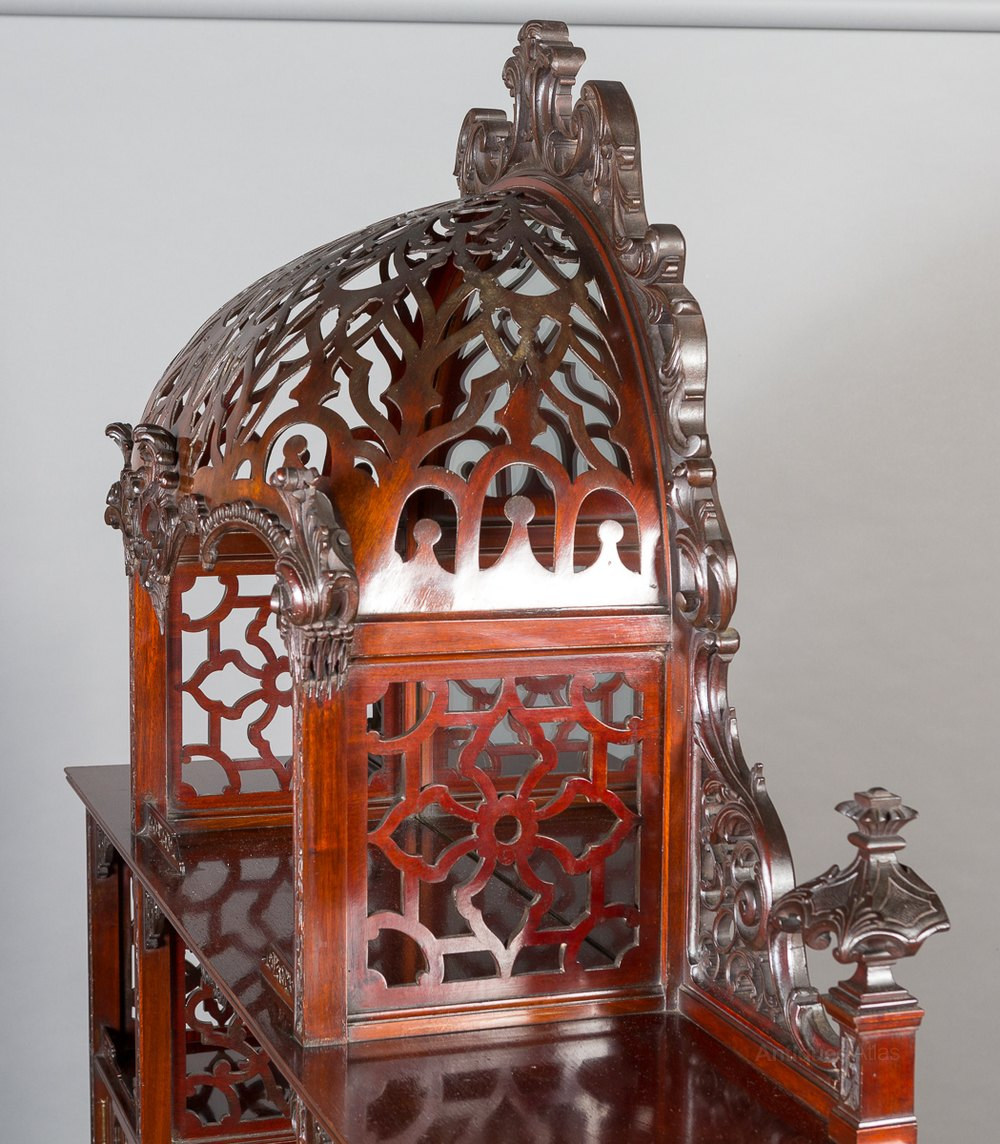 Chippendale China Cabinet Impressive Chinese Chippendale Style Display Cabinet Antiques Atlas