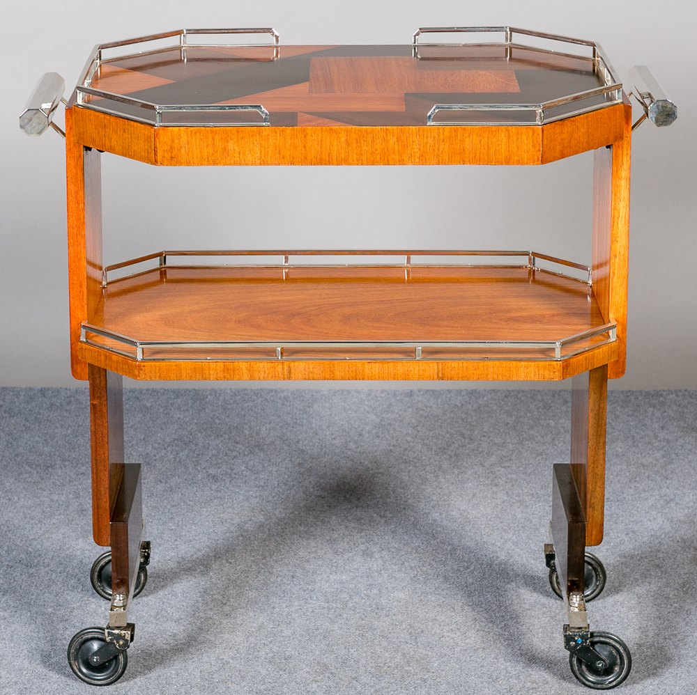 art deco drinks trolley louis majorelle drinks trolley