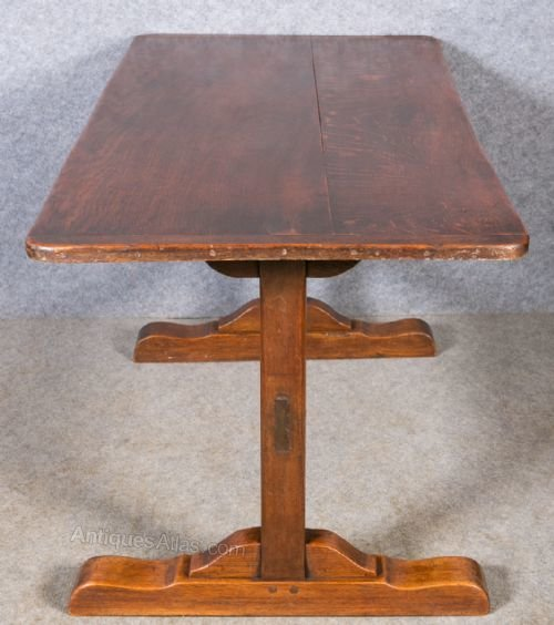 Oak Farmhouse Dining Table Antiques Atlas