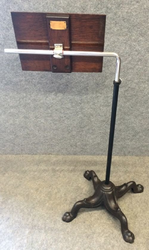 Reading Table Bed Table Music Stand Lectern Antiques