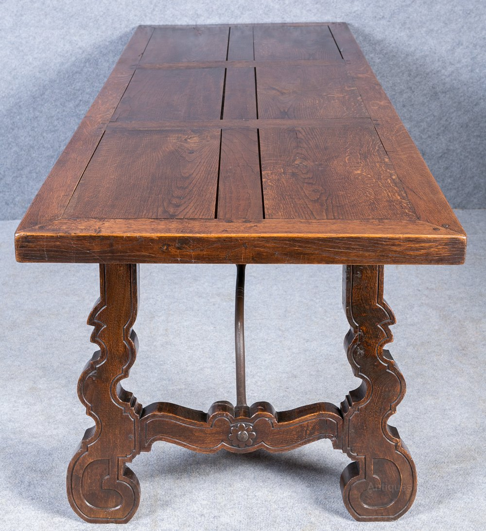 Spanish Style Oak Refectory Table Antiques Atlas