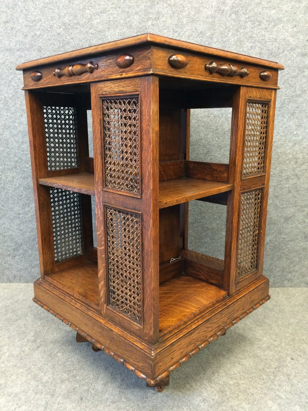 Unusual Edwardian Revolving Bookcase Antiques Atlas