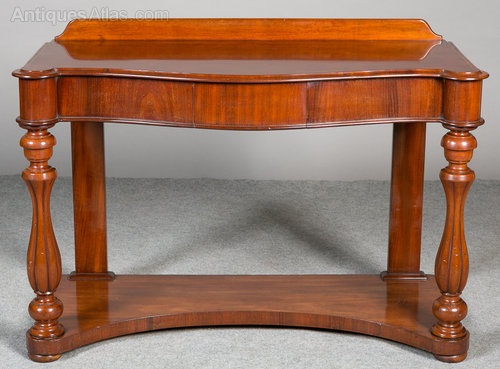 Victorian Foyer Table : Victorian hall table antiques atlas