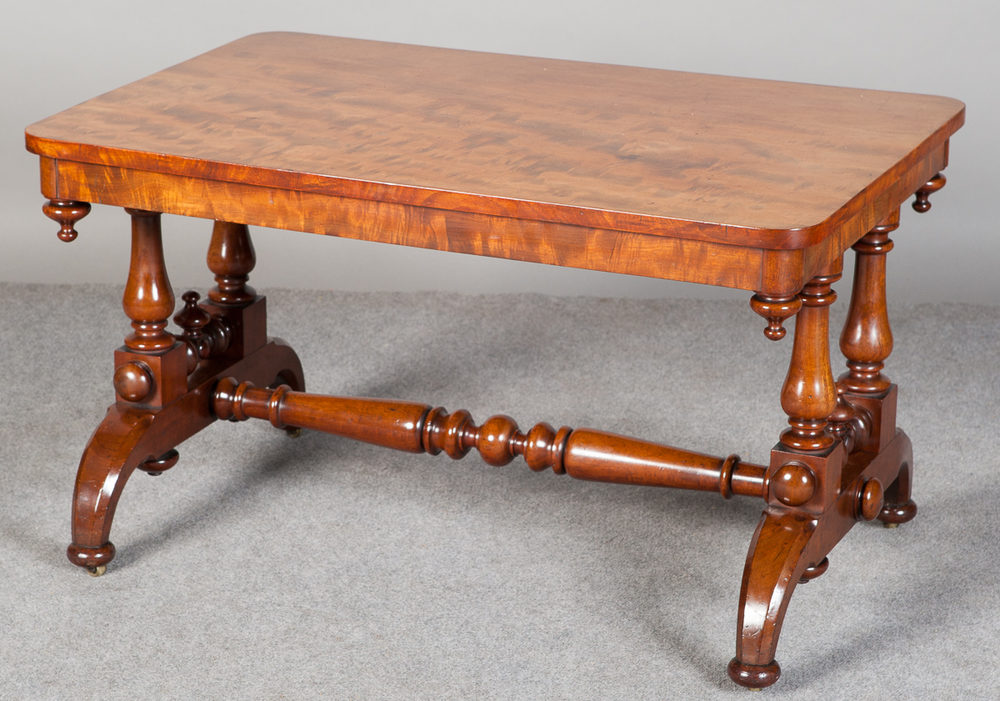 Victorian mahogany coffee table antiques atlas for Mahogany coffee table