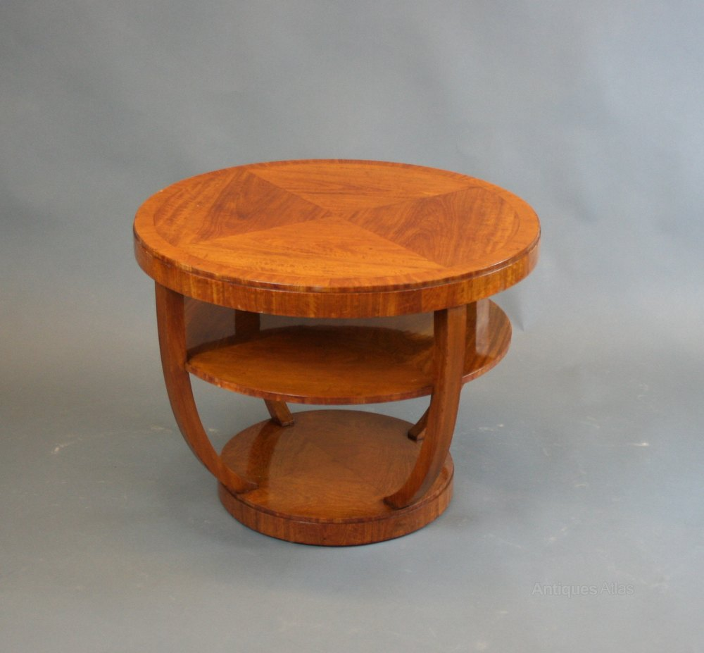 Art deco occasional table antiques atlas for Occasional tables
