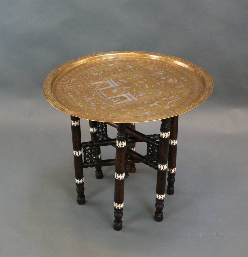 Egyptian occasional table antiques atlas for Occasional tables