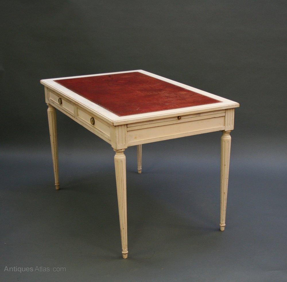 French bureau plat desk antiques atlas for Bureau in french