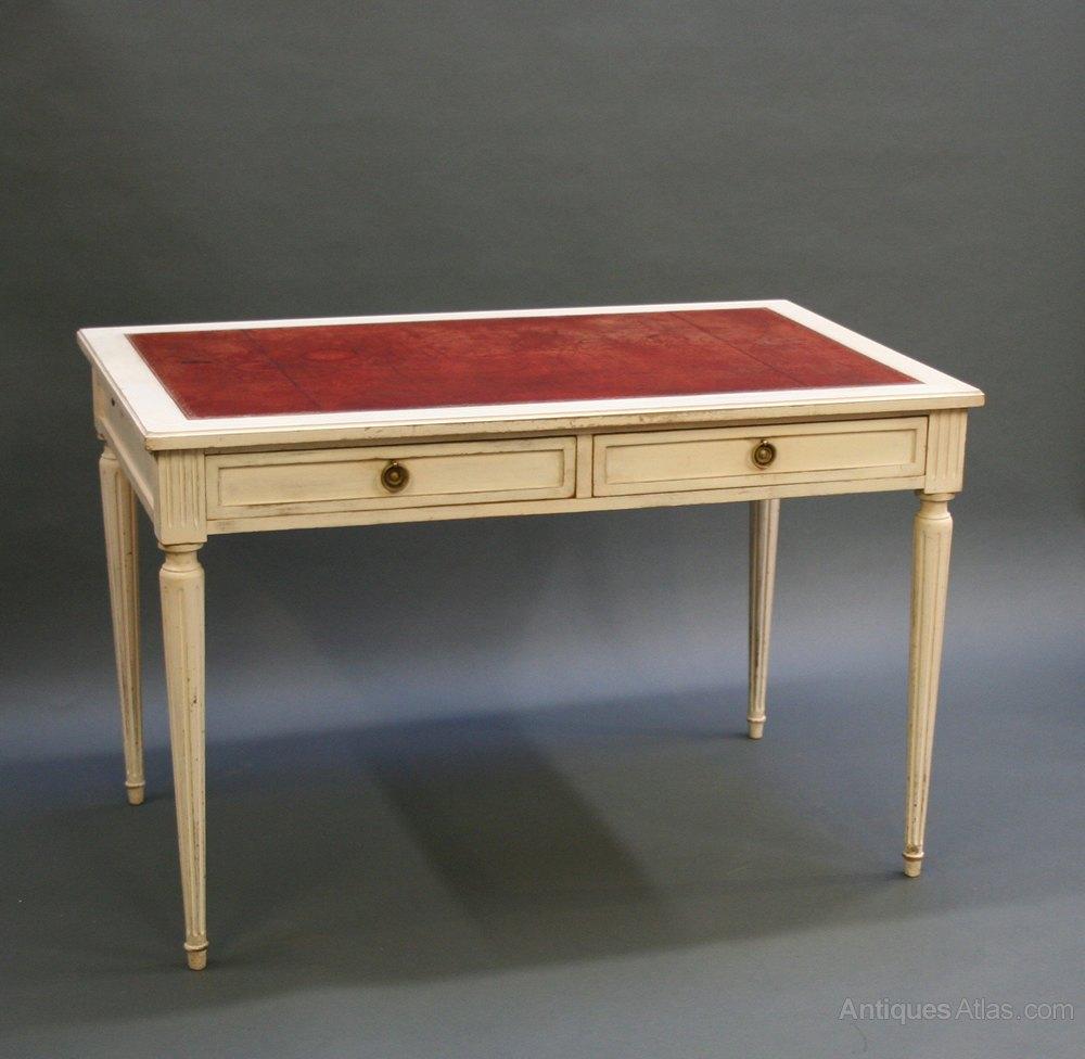 French bureau plat desk antiques atlas for Bureau french