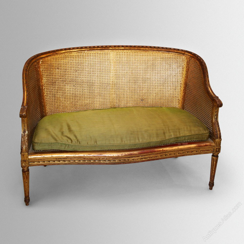 french gilt sofa canape antiques atlas. Black Bedroom Furniture Sets. Home Design Ideas
