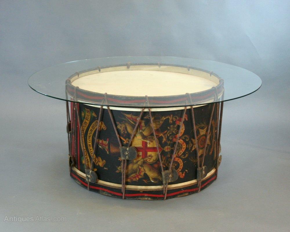 Vintage Military Drum Table Antiques Atlas